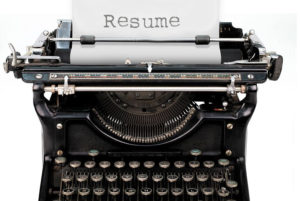 resume-typewriter
