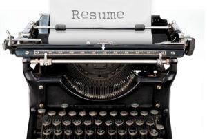 resume-typewriter